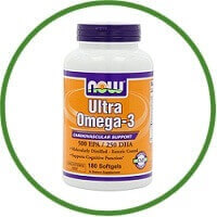Now Foods Ultra Omega 3 Fish Oil Soft-gels
