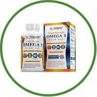 Omega 3 Fish Oil Triple Strength Burpless